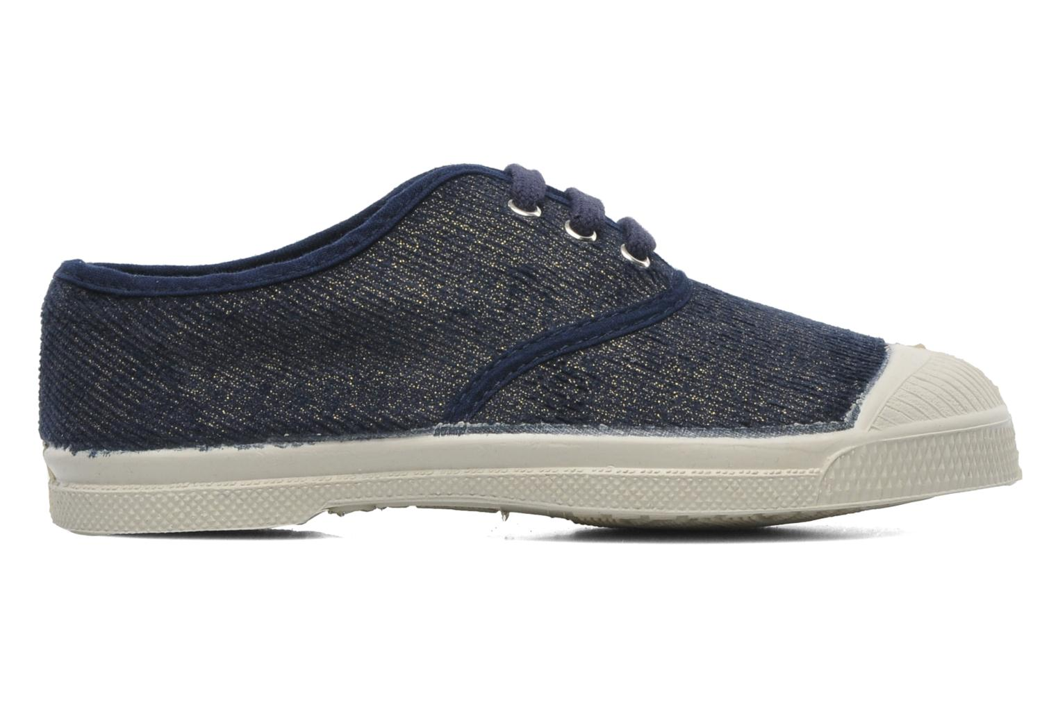 Trainers Bensimon Tennis Shinny E Blue back view