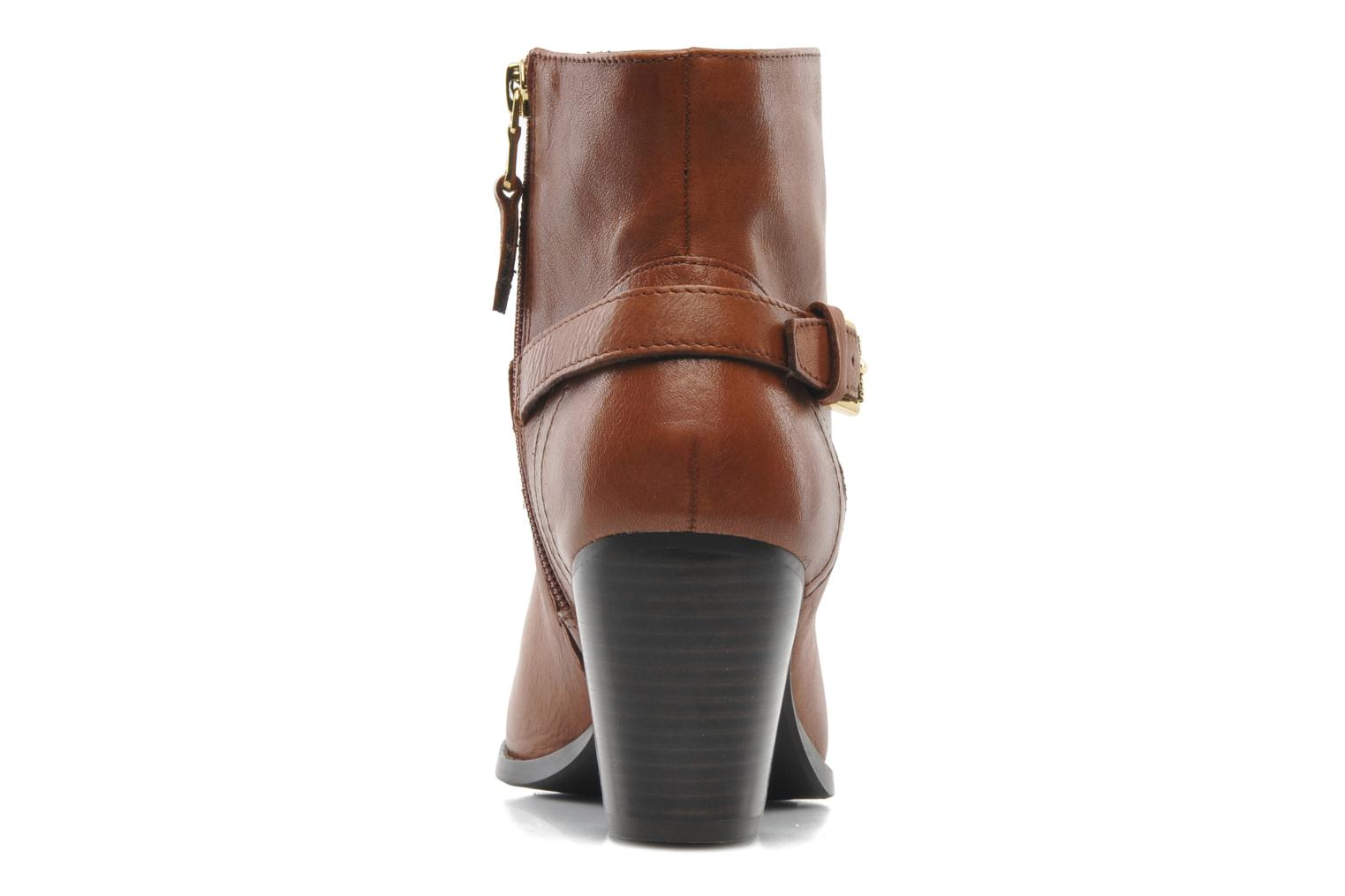 Ankle boots Lauren by Ralph Lauren MAEVE Brown view from the right