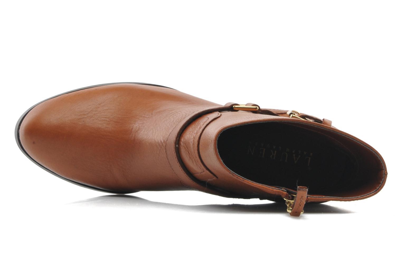 Bottines et boots Lauren by Ralph Lauren MAEVE Marron vue gauche