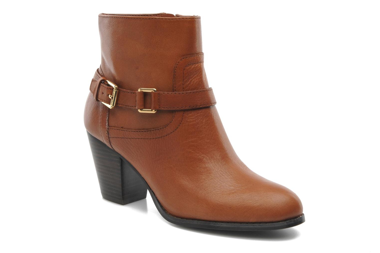 Bottines et boots Lauren by Ralph Lauren MAEVE Marron vue détail/paire