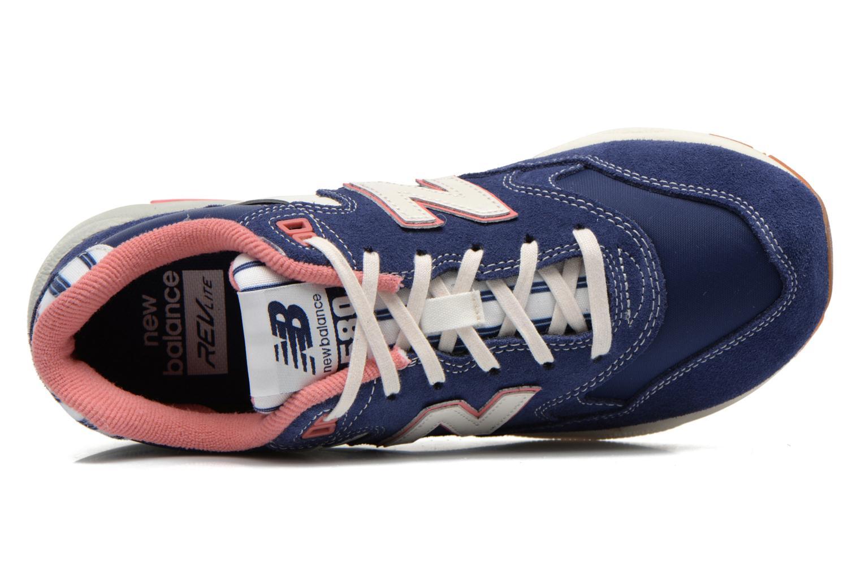 Sneakers New Balance WRT580 Blauw links