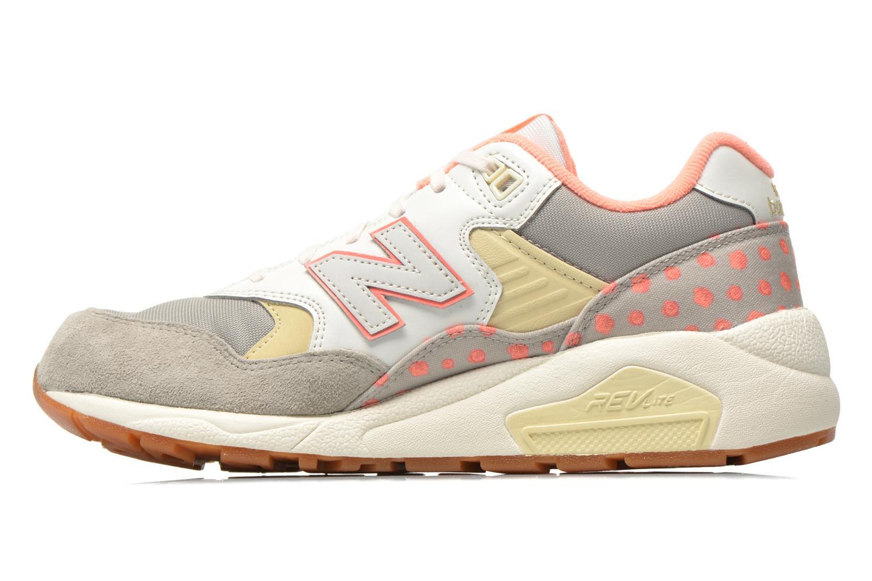 Sneakers New Balance WRT580 Beige voorkant