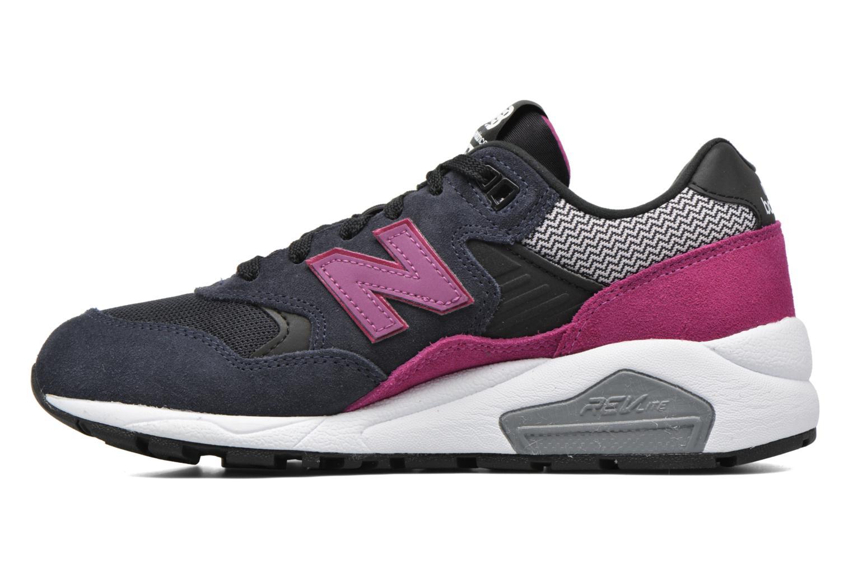 Sneaker New Balance WRT580 schwarz ansicht von vorne