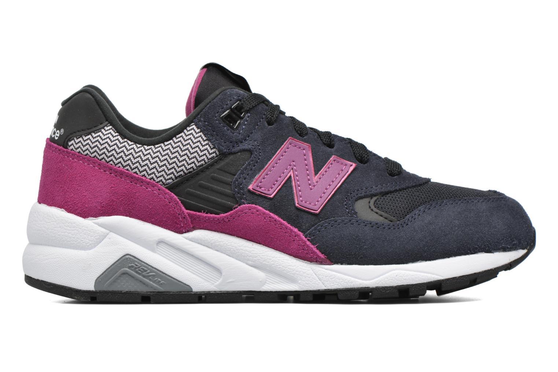 Sneaker New Balance WRT580 schwarz ansicht von hinten