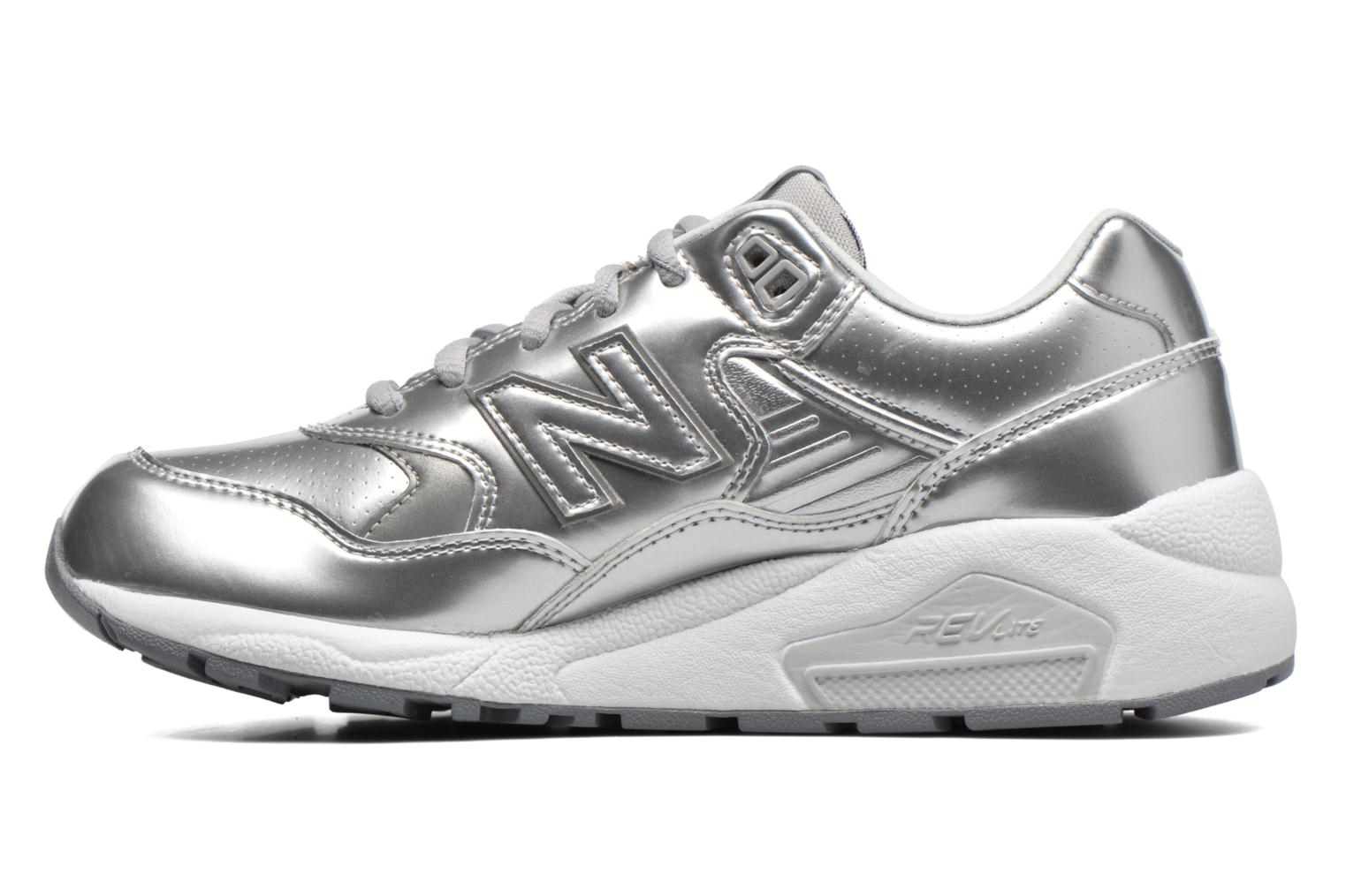 Trainers New Balance WRT580 Silver front view