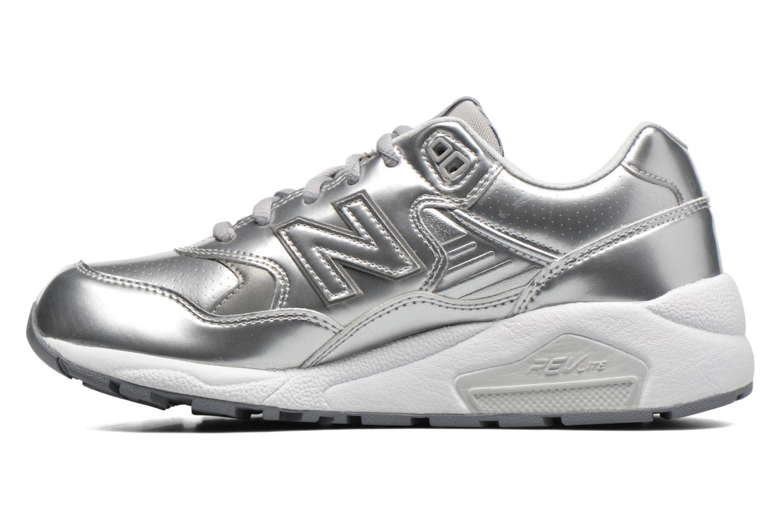 Sneaker New Balance WRT580 silber ansicht von vorne
