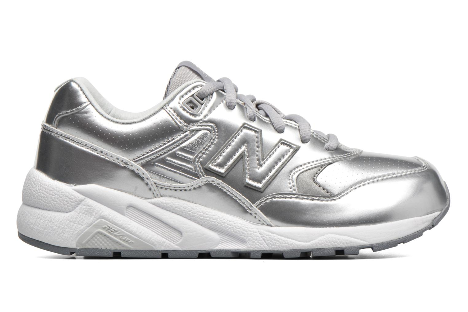 Trainers New Balance WRT580 Silver back view