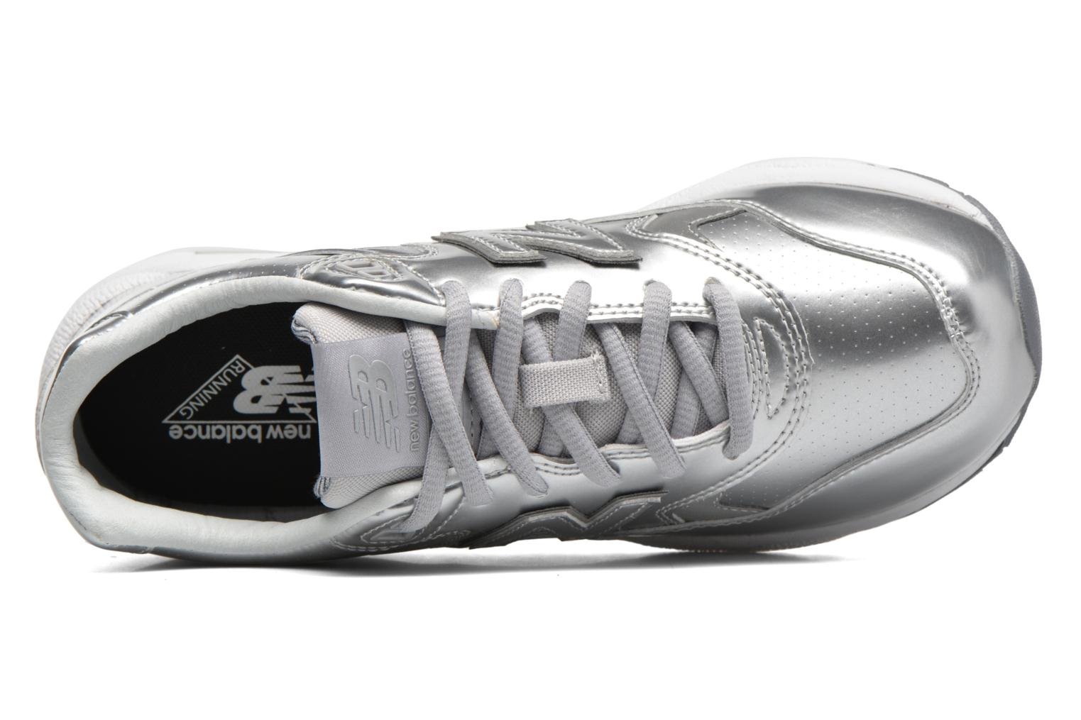Trainers New Balance WRT580 Silver view from the left