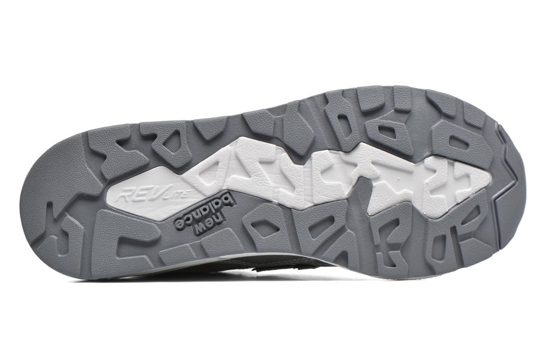 Sneaker New Balance WRT580 silber ansicht von oben