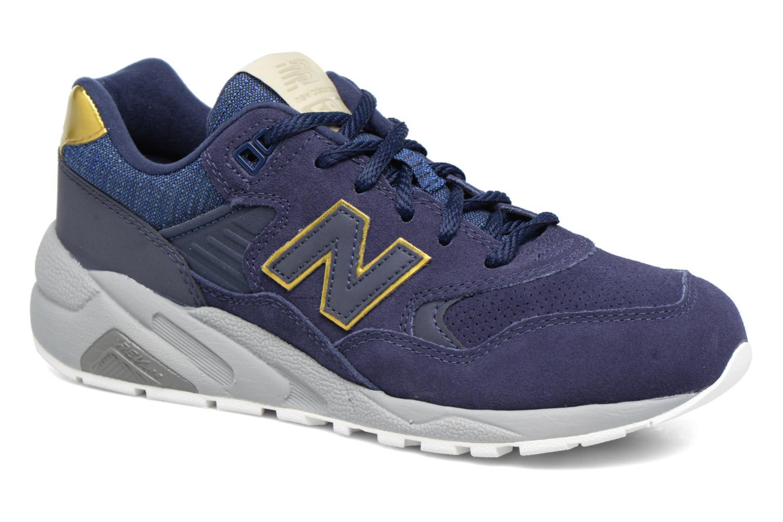 Sneakers New Balance WRT580 Blå detaljeret billede af skoene