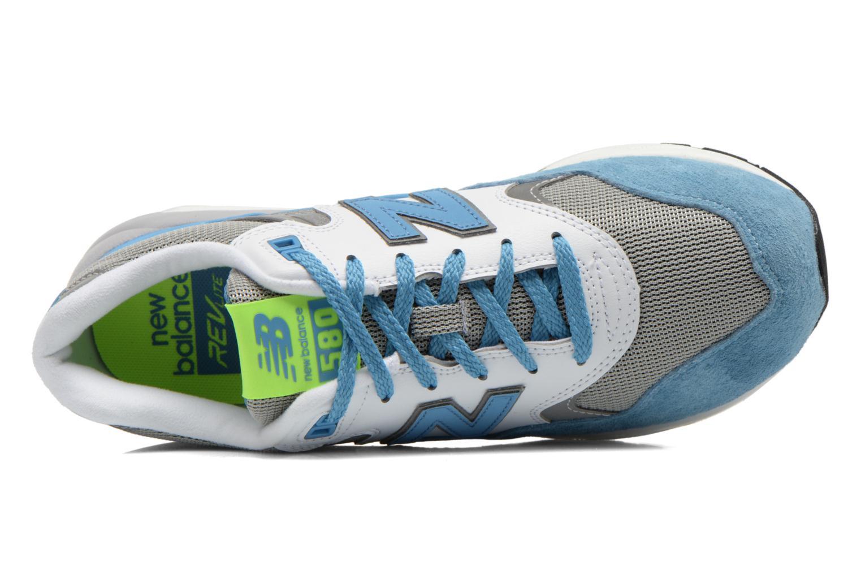 Sneaker New Balance MRT580 blau ansicht von links