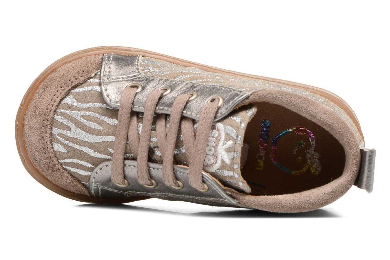 Stiefeletten & Boots Shoo Pom Bouba Bump beige ansicht von links