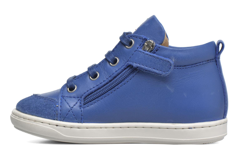 Bottines et boots Shoo Pom Bouba Bi Zip Bleu vue face