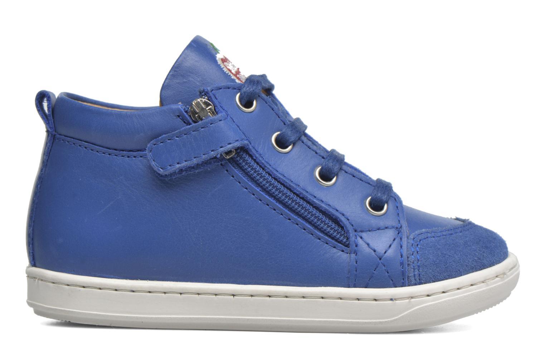Bottines et boots Shoo Pom Bouba Bi Zip Bleu vue derrière