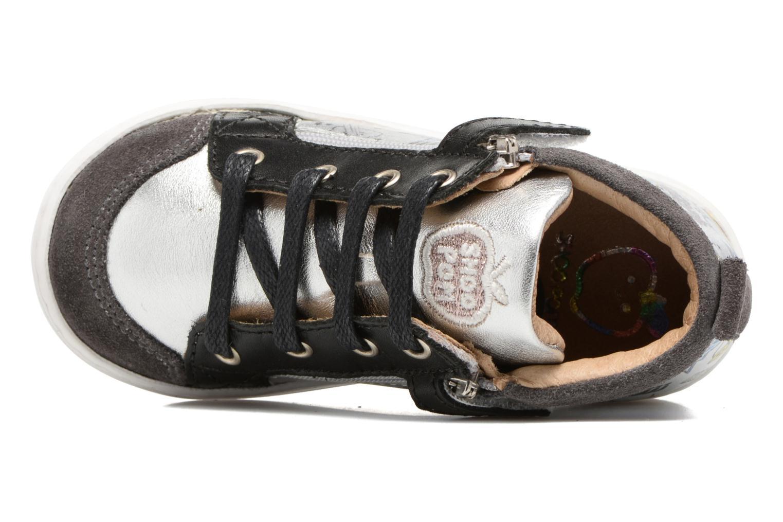 Bottines et boots Shoo Pom Bouba Bi Zip Noir vue gauche