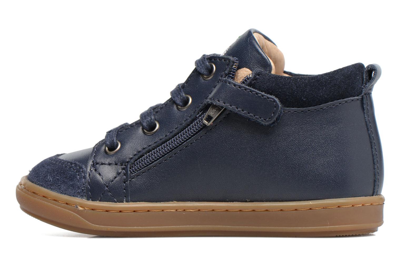 Ankle boots Shoo Pom Bouba Bi Zip Blue front view