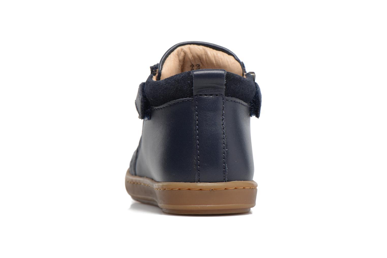 Bottines et boots Shoo Pom Bouba Bi Zip Bleu vue droite