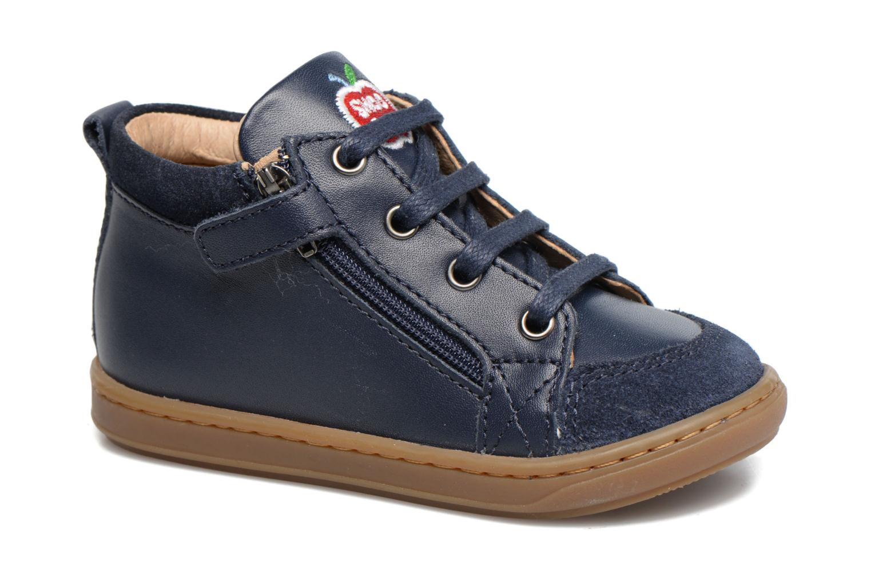 Ankle boots Shoo Pom Bouba Bi Zip Blue detailed view/ Pair view