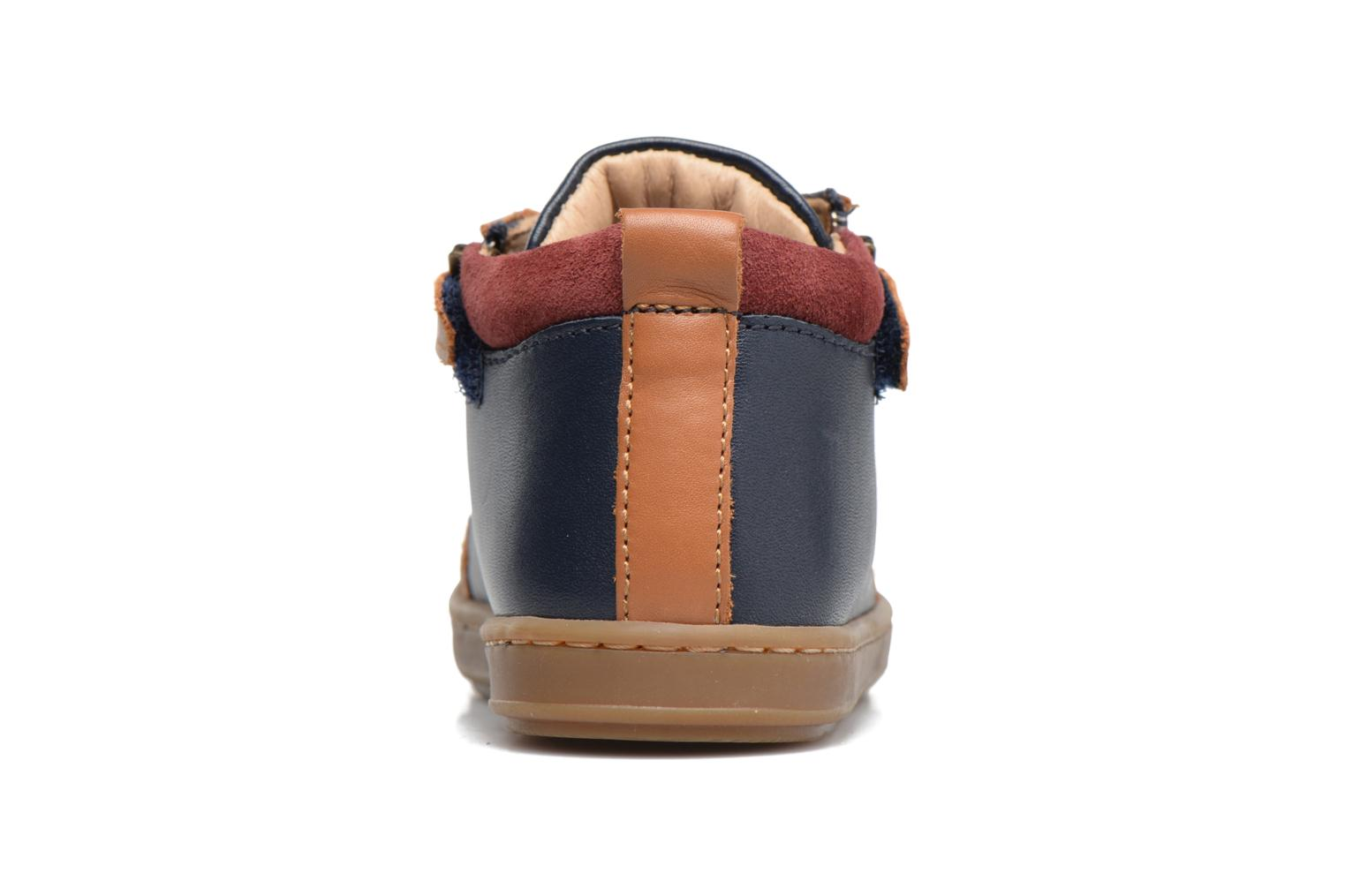 Ankle boots Shoo Pom Bouba Bi Zip Blue view from the right