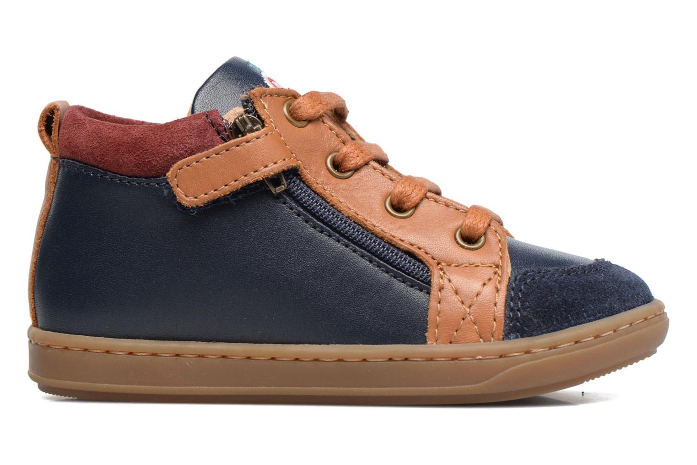 Ankle boots Shoo Pom Bouba Bi Zip Blue back view