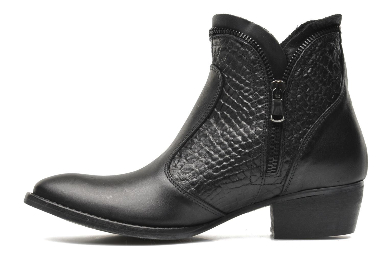 Bottines et boots Méliné Ydille Noir vue face