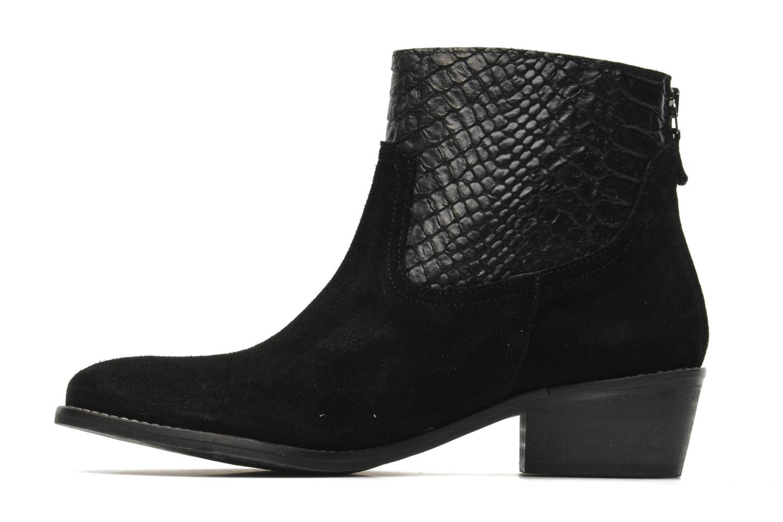 Boots en enkellaarsjes Méliné Ydille Zwart voorkant