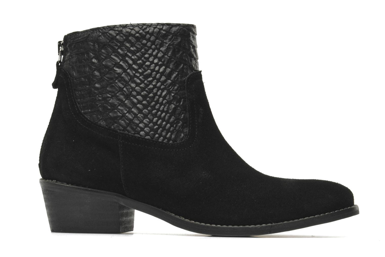 Boots en enkellaarsjes Méliné Ydille Zwart achterkant