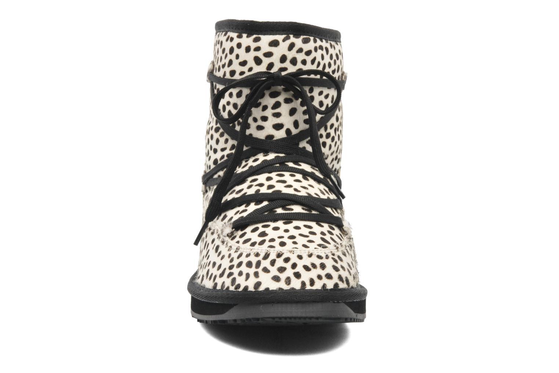 Bottines et boots Boo roo Ainsley Multicolore vue portées chaussures