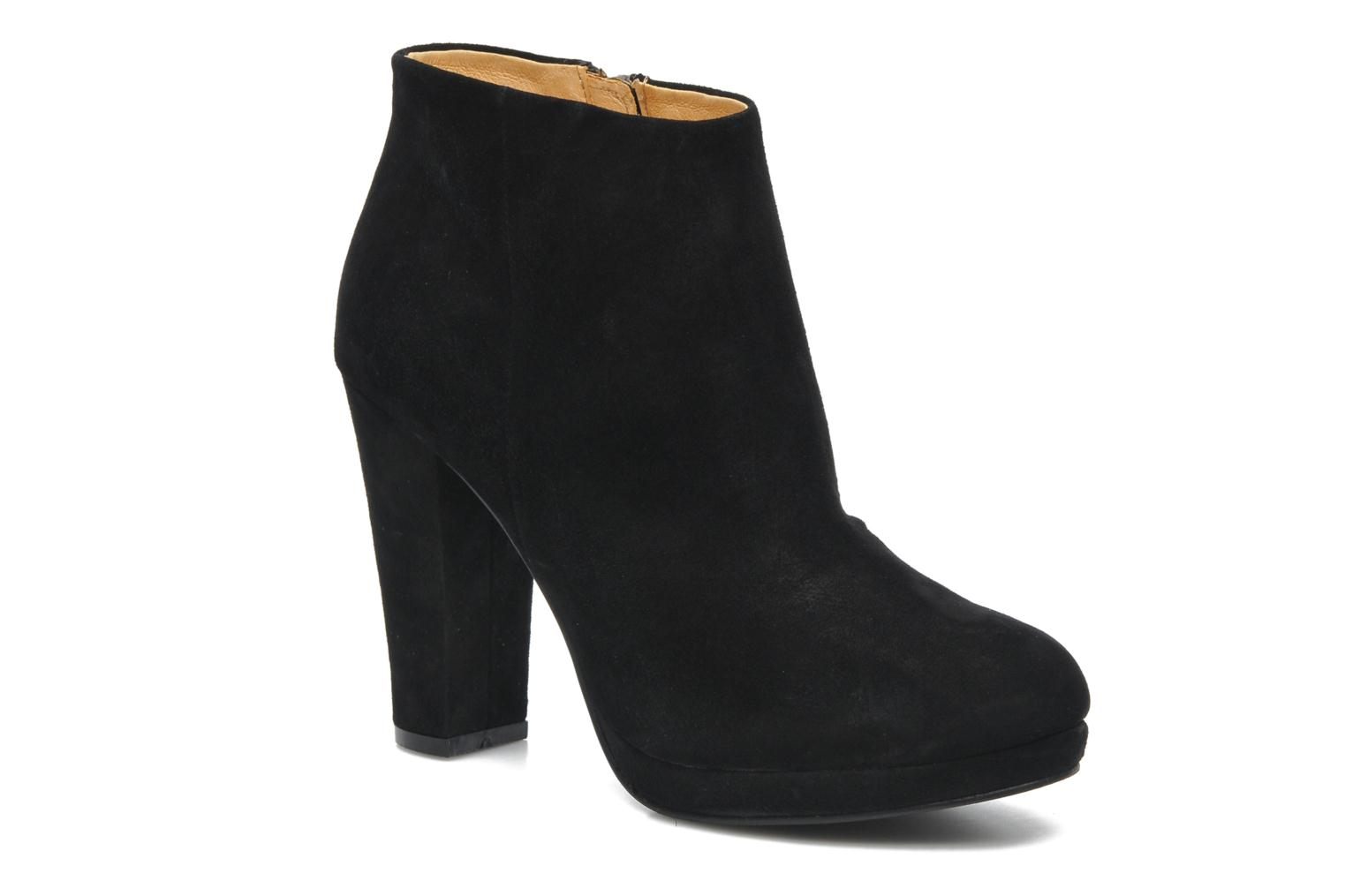 Ankle boots Buffalo Ballasur Black detailed view/ Pair view