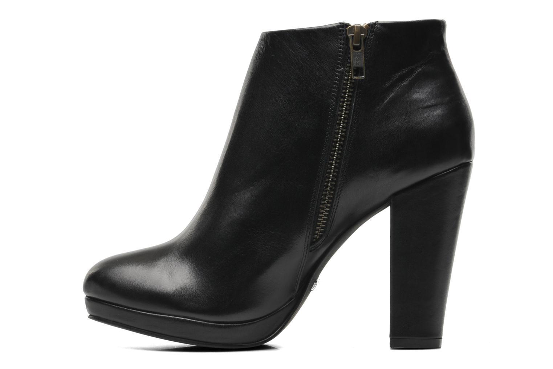 Bottines et boots Buffalo Lafille Noir vue face