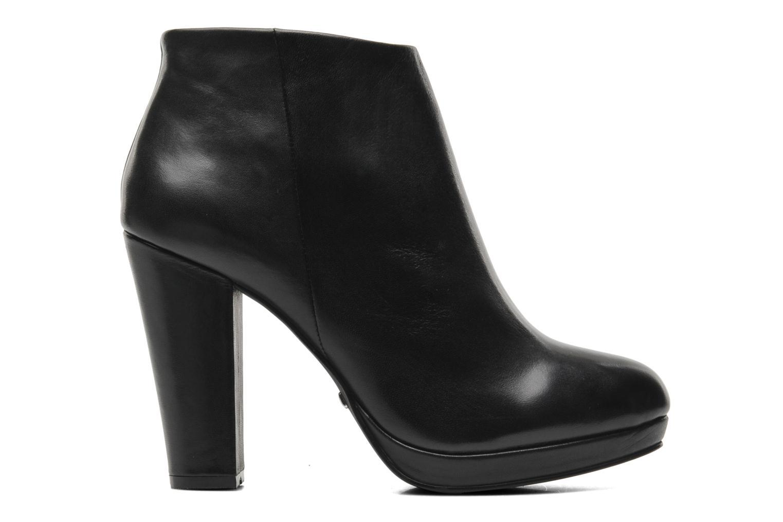 Bottines et boots Buffalo Lafille Noir vue derrière