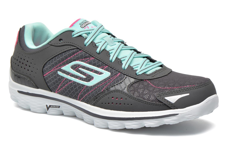 Skechers GO Walk 2 Flash 13960 Sport Shoes Color: Blue
