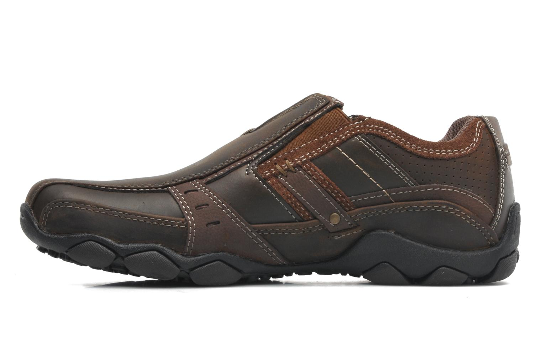 Sneakers Skechers Diameter Garzo 62895 Brun bild från framsidan