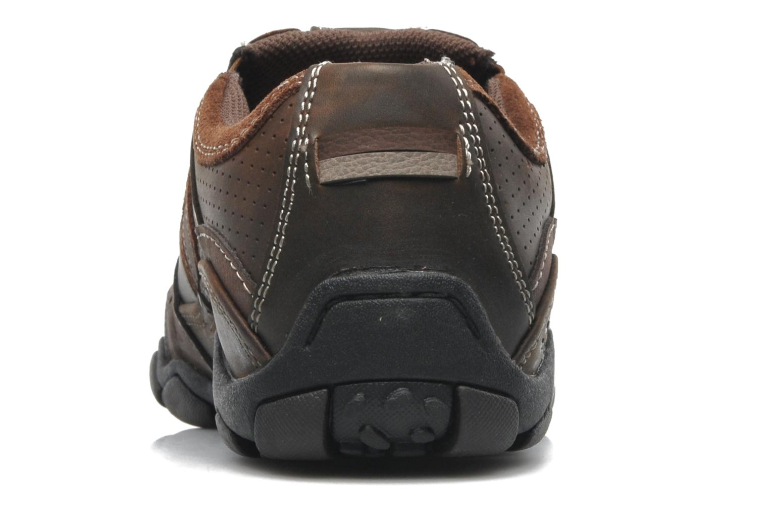 Trainers Skechers Diameter Garzo 62895 Brown view from the right