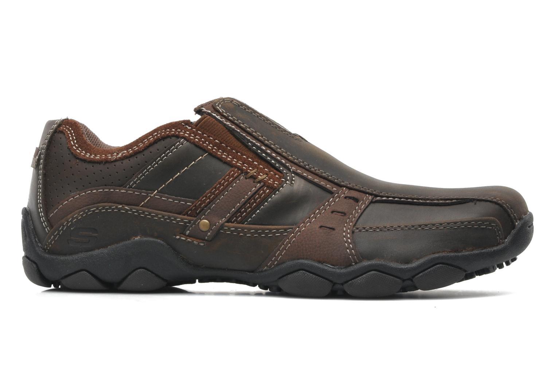 Sneakers Skechers Diameter Garzo 62895 Brun bild från baksidan