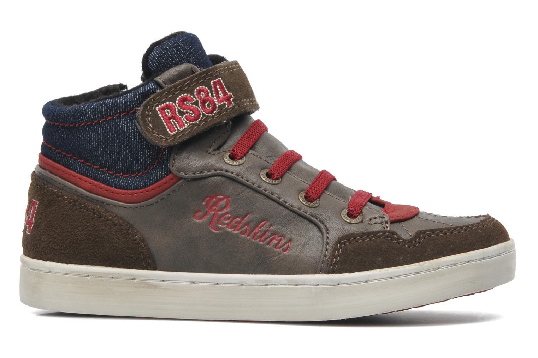Sneakers Redskins Zigzagkid Bruin achterkant