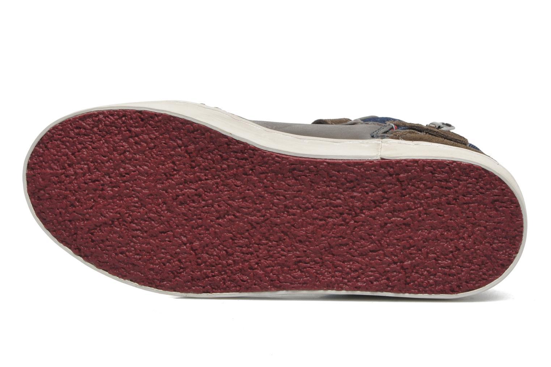Sneaker Redskins Zigzagkid braun ansicht von oben