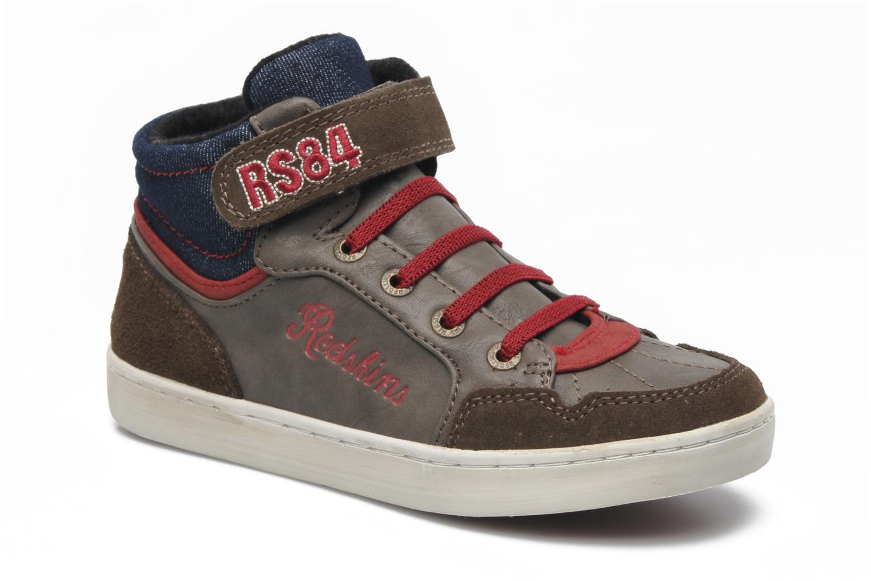 Sneakers Redskins Zigzagkid Bruin detail