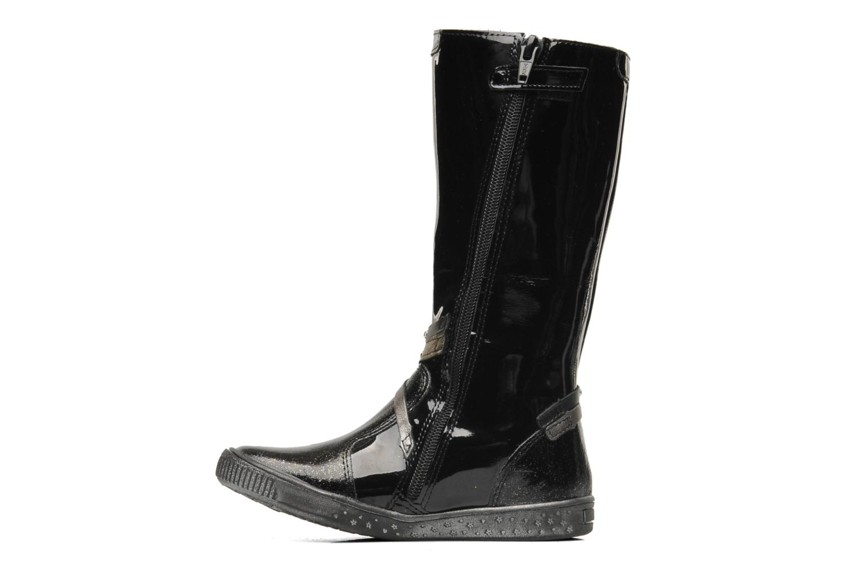 Boots & wellies Babybotte KORALINE Black front view