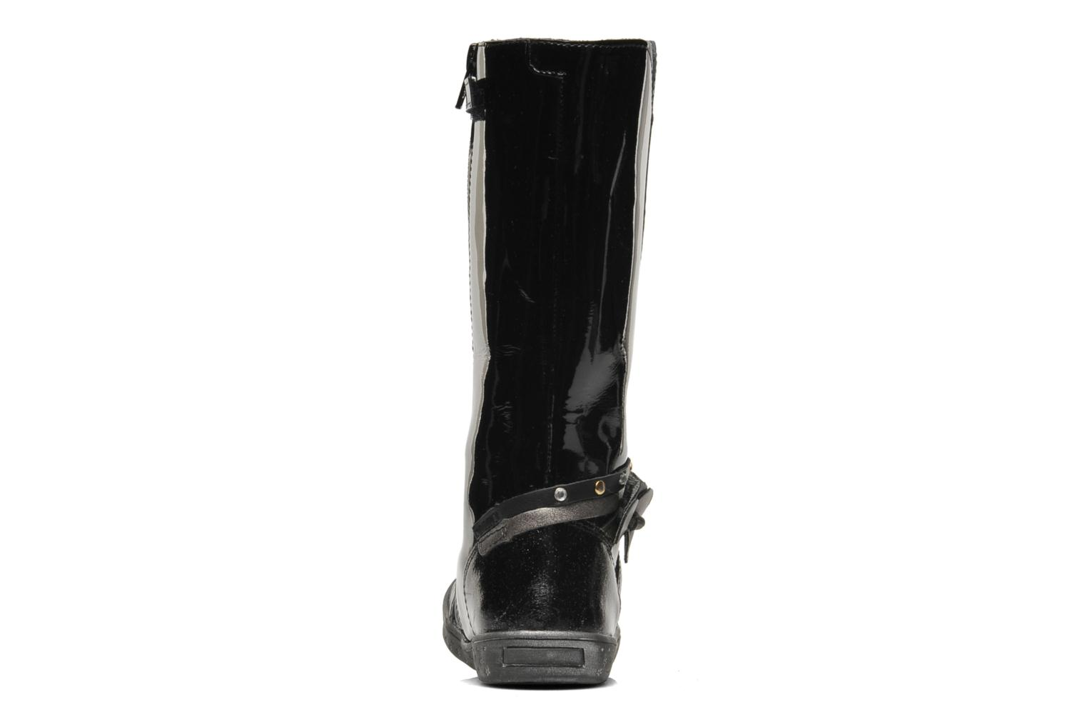 Boots & wellies Babybotte KORALINE Black view from the right