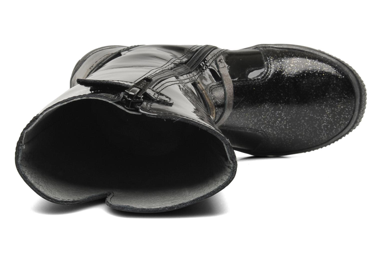 Stiefel Babybotte KORALINE schwarz ansicht von links