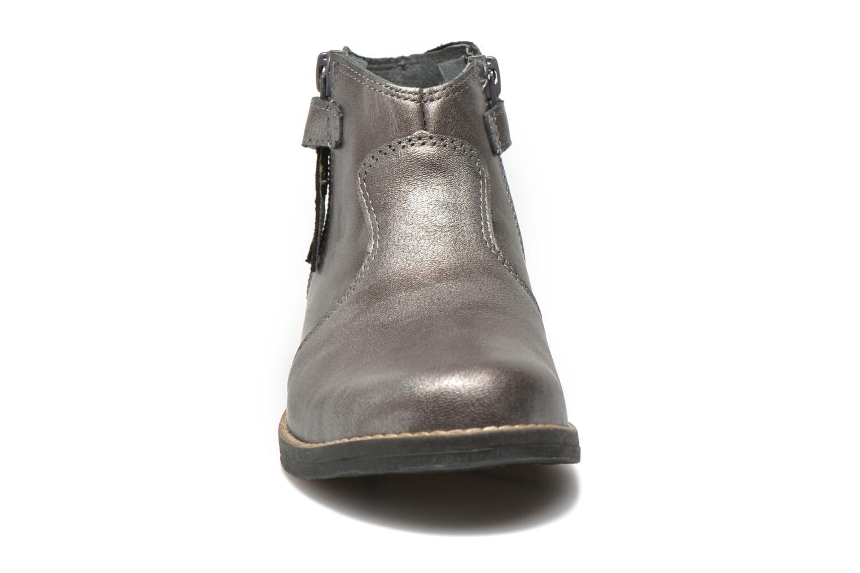 Bottines et boots Babybotte Kenza Gris vue portées chaussures