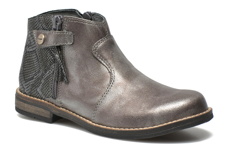Bottines et boots Babybotte Kenza Gris vue détail/paire