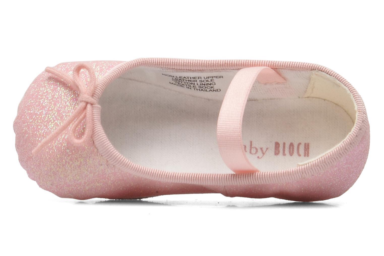 Ballerinas Bloch Baby Sarah rosa ansicht von links