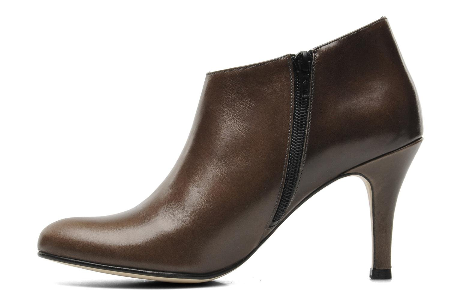 Ankle boots Jonak Emma Brown front view