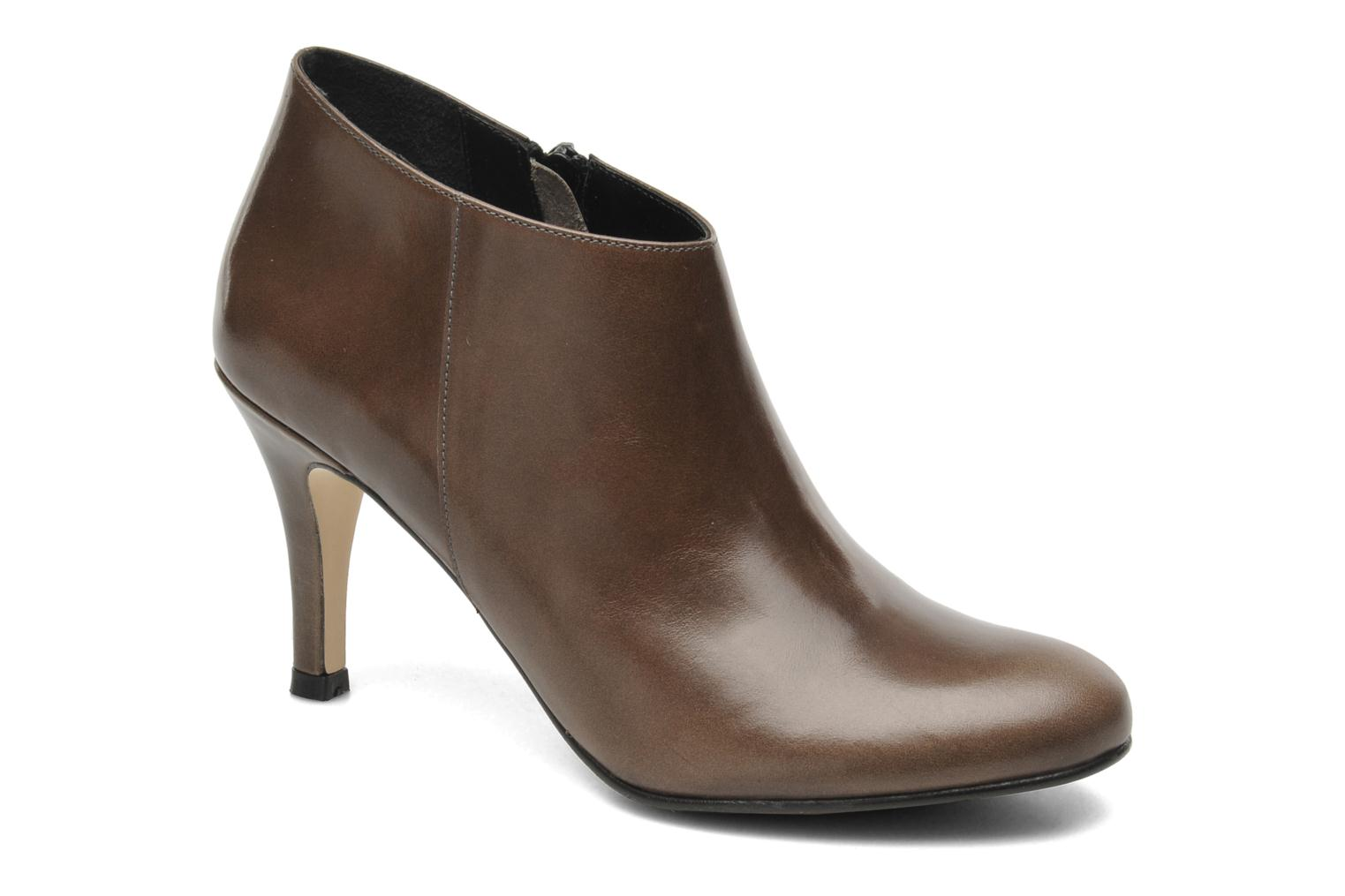 Ankle boots Jonak Emma Brown detailed view/ Pair view