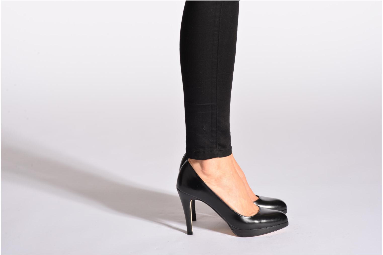 High heels Jonak Ypine Black view from underneath / model view