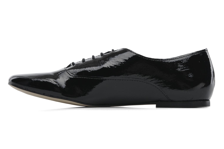 Snörade skor Jonak Makadam Svart bild från framsidan