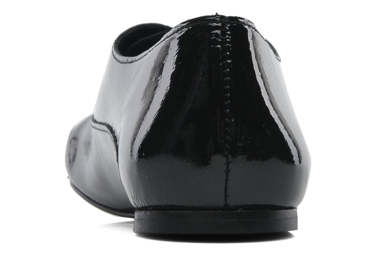 Snörade skor Jonak Makadam Svart Bild från höger sidan
