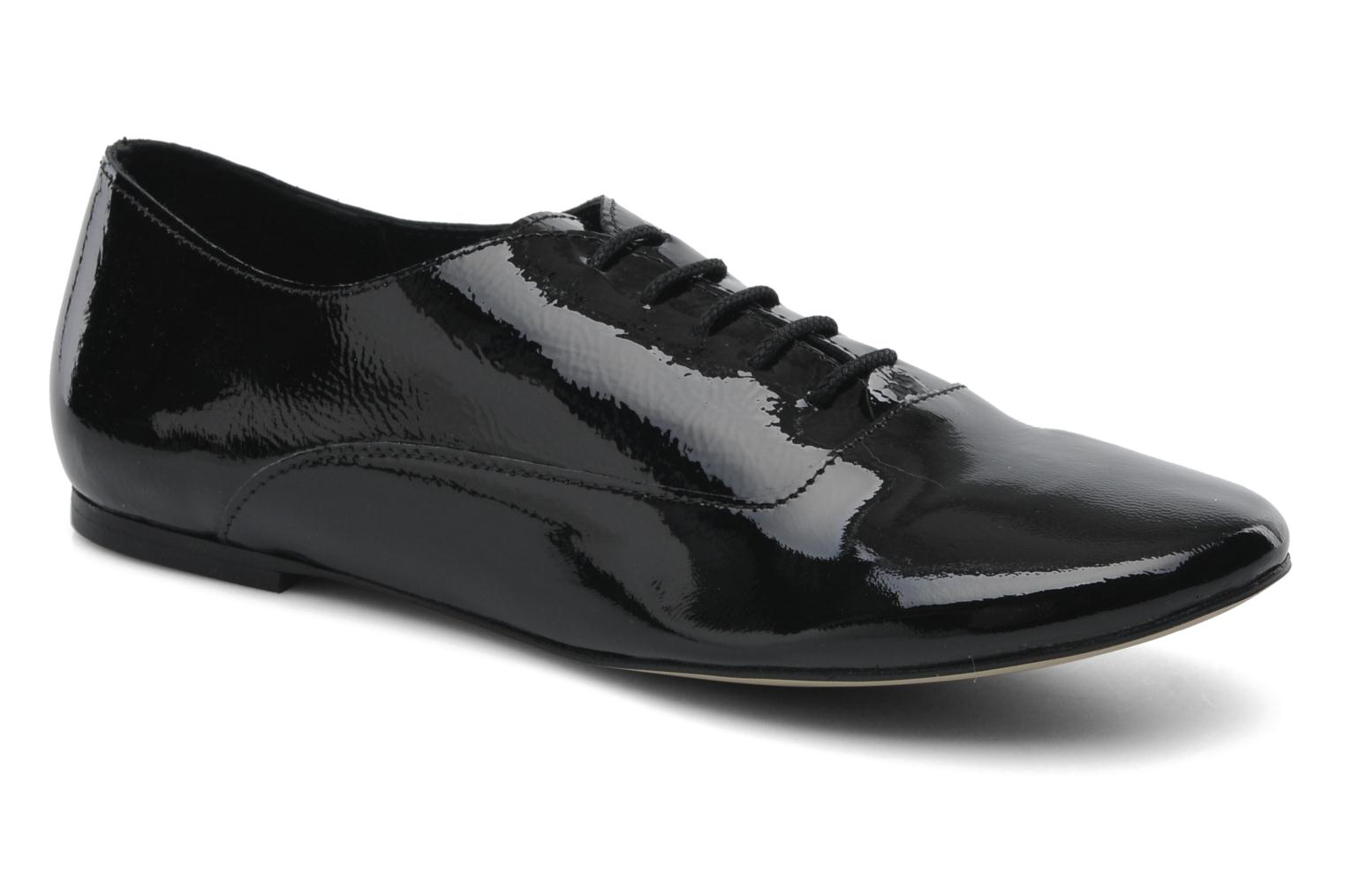 Lace-up shoes Jonak Makadam Black detailed view/ Pair view